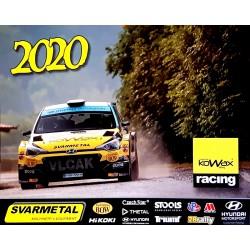 Kalendář KOWAX Racing 2020